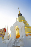 South East Asia, Thailand, Lanna, Chiang Mai, Wat Wat Suan Dok Photographic Print by Alex Robinson