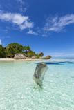Anse Source D'Argent Beach, La Digue, Seychelles Photographic Print by Jon Arnold