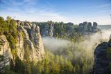 Bastei, Saxon Switzerland National Park, Saxony, Germany Photographic Print by Jon Arnold