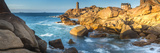 Ploumanach Lighthouse, Cote De Granit Rose, Cotes D'Amor, Brittany, France Photographic Print by Peter Adams