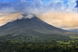 Central America, Costa Rica, La Fortuna, Arenal Volcano and National Park Photographic Print by Alex Robinson