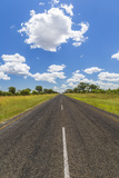 Road, Botswana, Africa Photographic Print by Peter Adams