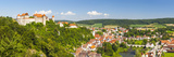 Elevated View over Picturesque Harburg Castle and Old Town Center, Harburg, Bavaria, Germany Photographic Print by Doug Pearson