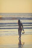 Costa Rica, Guanacaste, Nicoya Peninsula, Nosara, Playa Guiones Photographic Print by Michele Falzone