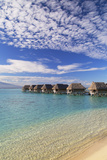 Overwater Bungalows of Sofitel Hotel, Moorea, Society Islands, French Polynesia (Pr) Photographic Print by Ian Trower