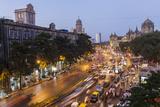 Chhatrapati Shivaji Terminus Train Station and Central Mumbai, India Photographic Print by Peter Adams