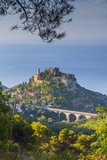 Eze, Alpes-Maritimes, Provence-Alpes-Cote D'Azur, French Riviera, France Photographic Print by Jon Arnold