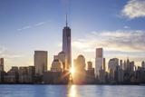 Usa, New York, New York City, Lower Manhattan Skyline Photographic Print by Michele Falzone