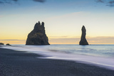 Vik, Southern Iceland. Reynisfjara Beach and Rock Formations. Photographic Print by Marco Bottigelli