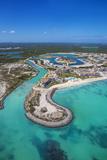 Dominican Republic, Punta Cana, Cap Cana, Cap Cana Marina Fotografiskt tryck av Jane Sweeney