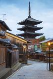 Japan, Kyoto, Higashiyama District, Gion, Yasaka Pagoda in Hokanji Temple Photographic Print by Jane Sweeney