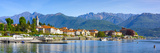 The Idyllic Lakeside Village of Baveno, Lake Maggiore, Piedmont, Italy Photographic Print by Doug Pearson
