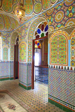 Interior Details of Continental Hotel, Tangier, Morocco, North Africa Photographic Print by Neil Farrin