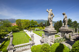 The Wonderfully Ornate Baroque Gardens of the Teatro Massimo, Isola Bella, Lake Maggiore Photographic Print by Doug Pearson