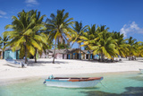 Dominican Republic, Punta Cana, Parque Nacional Del Este, Saona Island, Mano Juan Photographic Print by Jane Sweeney