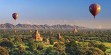 Myanmar (Burma), Temples of Bagan (Unesco World Heritage Site) Papier Photo par Michele Falzone