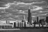 Usa,Illinois, Midwest, Cook County, Chicago,Shedd Aquarium and Skyline Photographic Print by Christian Heeb