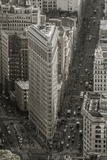 Usa, New York, Manhattan, Midtown, the Flatiron Building Photographic Print by Alan Copson