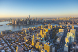 Lower Manhattan from Brooklyn, Manhattan, New York City, New York, USA Photographic Print by Jon Arnold