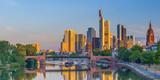 Germany, Hessen, Frankfurt Am Main, City Skyline across River Main Photographic Print by Alan Copson