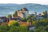 Village of Curemonte, Correze, Limousin, France Photographic Print by Peter Adams