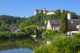 The Picturesque Harburg Castle and Village, Harburg, Bavaria, Germany Photographic Print by Doug Pearson