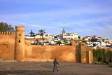 City Walls, Oudaia Kasbah, Rabat, Morocco, North Africa Photographic Print by Neil Farrin