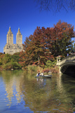 Usa, New York City, Manhattan, Central Park, Bow Bridge Photographic Print by Michele Falzone