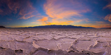 Usa, California, Death Valley National Park, Badwater Basin, Lowest Point in North America Photographic Print by Alan Copson