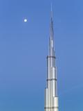 The Burj Khalifa Dubai, a Futuristic Modern Design Structure Photographic Print by Gavin Hellier