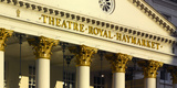 Theatre Royal Portico Detail, Haymarket, Piccadilly, London Photographic Print by Richard Bryant