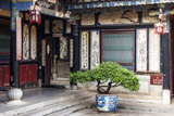 Typical Architecture of the Zhu Family Garden, Jianshui County Reproduction photographique par Nadia Isakova