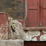 Shuttered Window and Peeling Paint, Spitalfields, London Photographic Print by Richard Bryant
