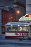 Usa,Midwest, Minnesota, St.Paul, Mickey's Diner Fotodruck von Christian Heeb