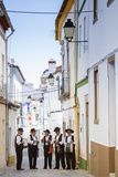 Europe, Portugal, Alentejo, Arronches, a Local Folk Group in Arronches Photographic Print by Alex Robinson