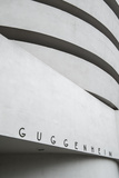 Guggenheim Museum, 5th Avenue, Manhattan, New York City, New York, USA Photographic Print by Jon Arnold