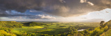 United Kingdom, England, North Yorkshire. a Clearing Storm over Sutton Bank. Photographic Print by Nick Ledger