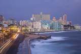 The Malecon Looking Towards Vedado, Havana, Cuba Photographic Print by Jon Arnold