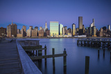 Chrysler and Un Buildings and Midtown Manhattan Skyline from Queens, New York City, New York, USA Photographic Print by Jon Arnold