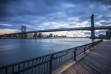 Manhattan Bridge from Brooklyn, New York City, New York, USA Photographic Print by Jon Arnold