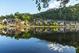 The Dordogne River at Beaulieu Sur Dordogne, Correze, Limousin, France Photographic Print by Peter Adams