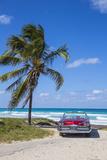 Jon Arnold - 1959 Dodge Custom Loyal Lancer Convertible, Playa Del Este, Havana, Cuba Fotografická reprodukce