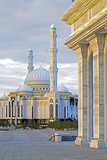 Central Asia, Kazakhstan, Astana, Hazrat Sultan Mosque, the Largest in Central Asia Photographic Print by Gavin Hellier