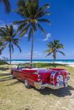 1959 Dodge Custom Loyal Lancer Convertible, Playa Del Este, Havana, Cuba Photographic Print by Jon Arnold