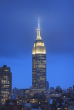 Usa, New York, New York City, Manhattan, Empire State Building Photographic Print by Michele Falzone