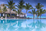 Dominican Republic, Punta Cana, Cap Cana, Swimmkng Pool at the Sanctuary Cap Cana Resort and Spa Photographic Print by Jane Sweeney