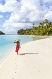 One Foot Island, Aitutaki, Cook Islands (Mr) Photographic Print by Matteo Colombo
