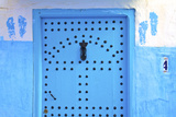 Traditional Moroccan Decorative Door, Rabat, Morocco, North Africa Photographic Print by Neil Farrin