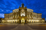 Opera House (Semperoper Dresden), Dresden, Saxony, Germany Photographic Print by Jon Arnold