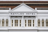 Singapore, Raffles Hotel, Exterior Photographic Print by Walter Bibikow